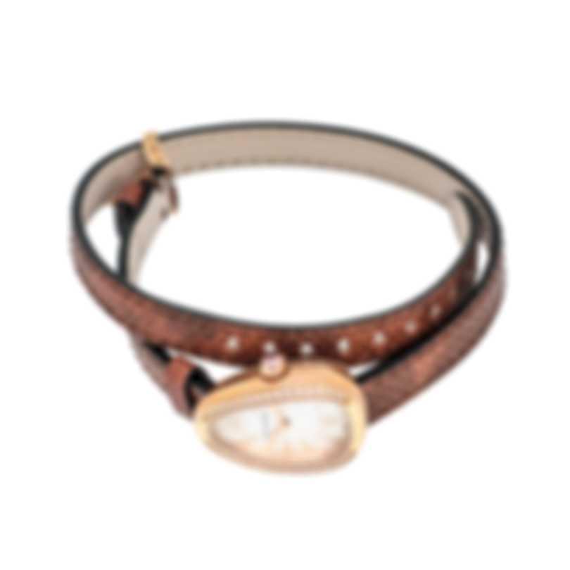 Bvlgari Serpenti 18K Rose Gold Quartz Ladies Watch 102727