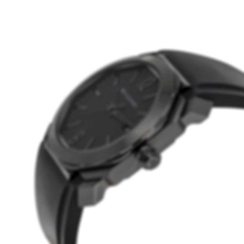 Bvlgari Octo Ultranero Automatic Men's Watch 102737