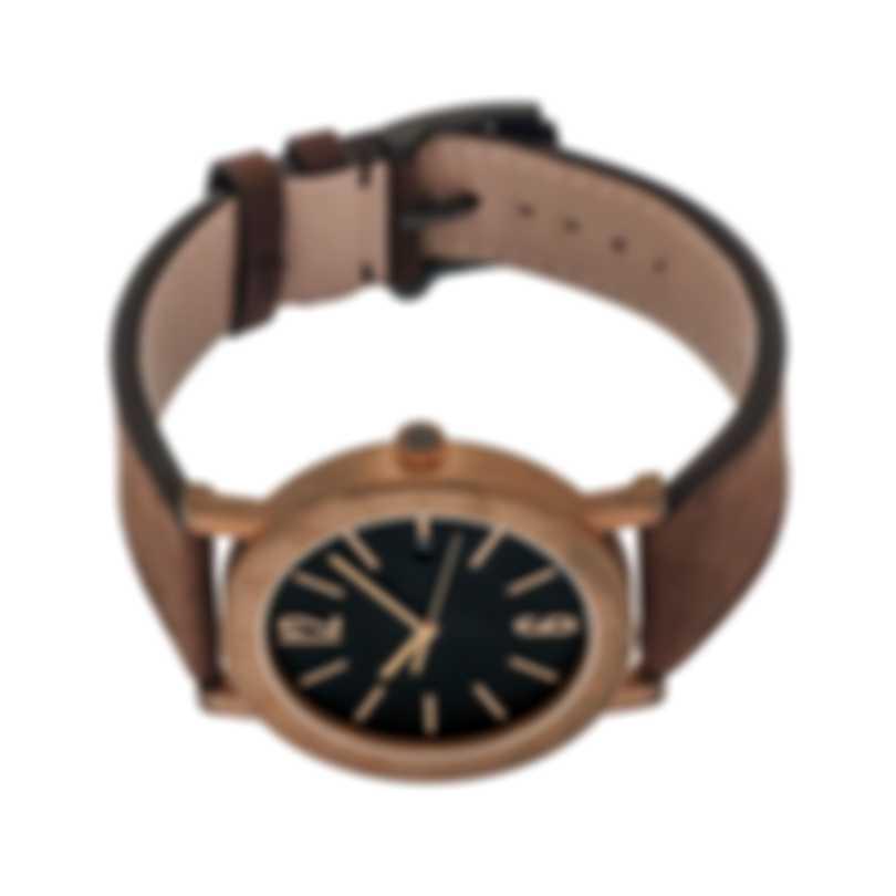 Bvlgari Solotempo Bronze Automatic Men's Watch 102977