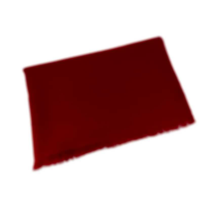 Bvlgari Logomania Letter Maxi 60% Silk And 40% Wool Scarf 243804