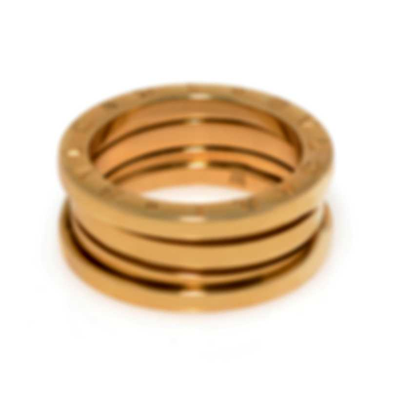 Bvlgari B.Zero1 18k Yellow Gold Ring Sz 5.5 323519