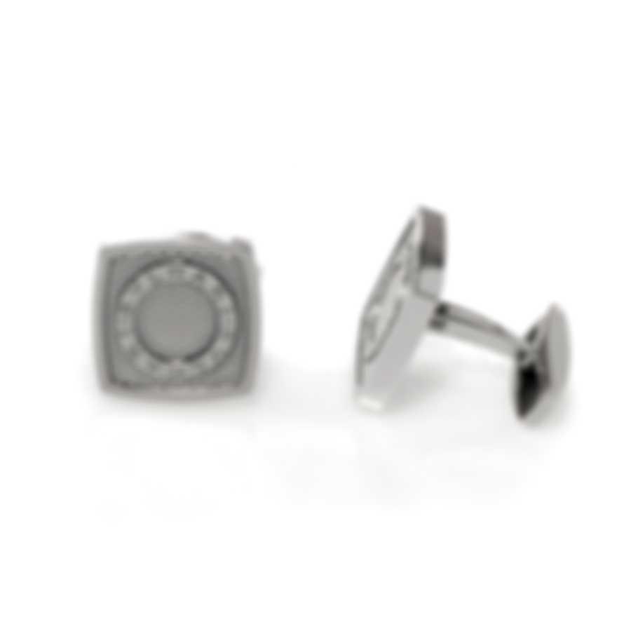 Bvlgari Bvlgari Sterling Silver Cufflinks 344431