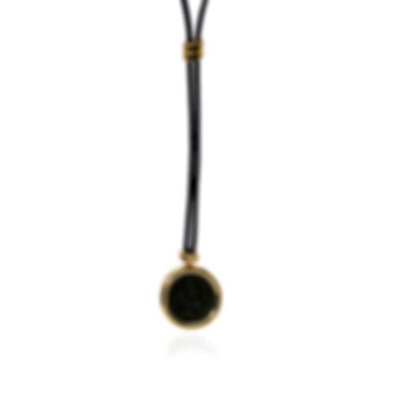 Bvlgari Monete 18k Yellow Gold Antique Bronze Coin Necklace 346330