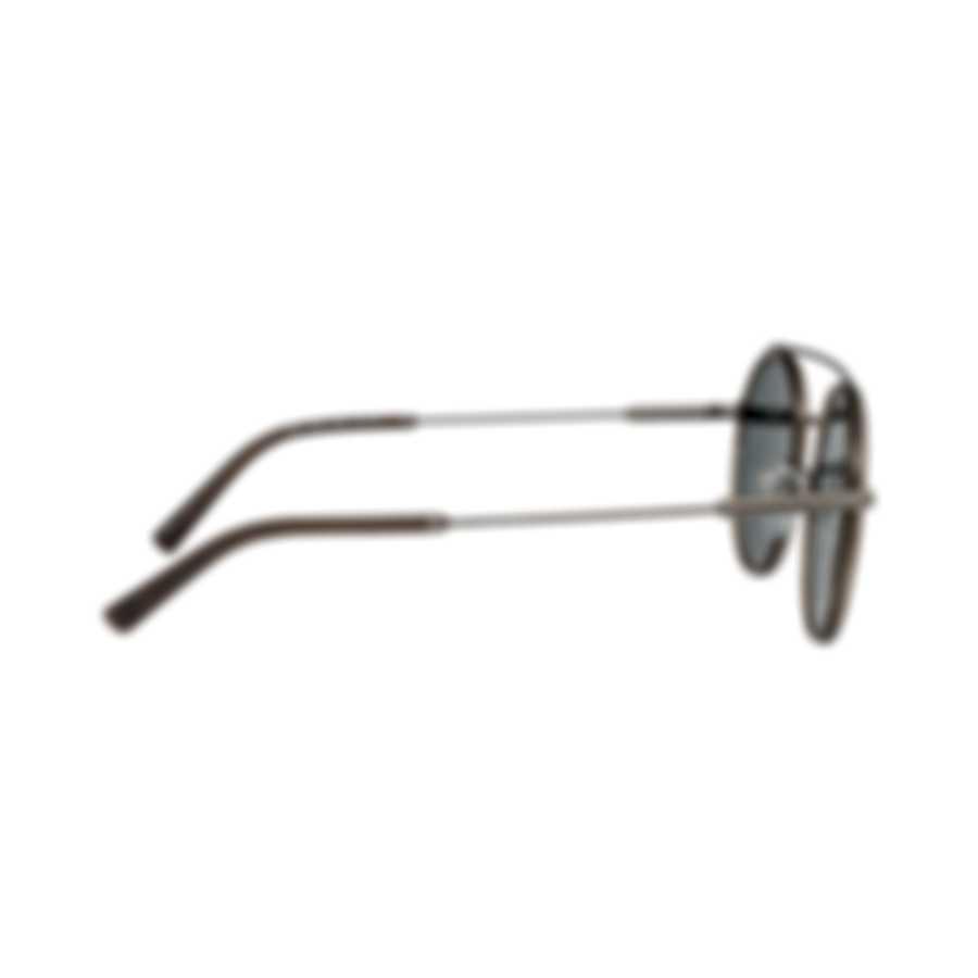 Bvlgari Gray And Blue Men's Metal Sunglasses BV5042-19555