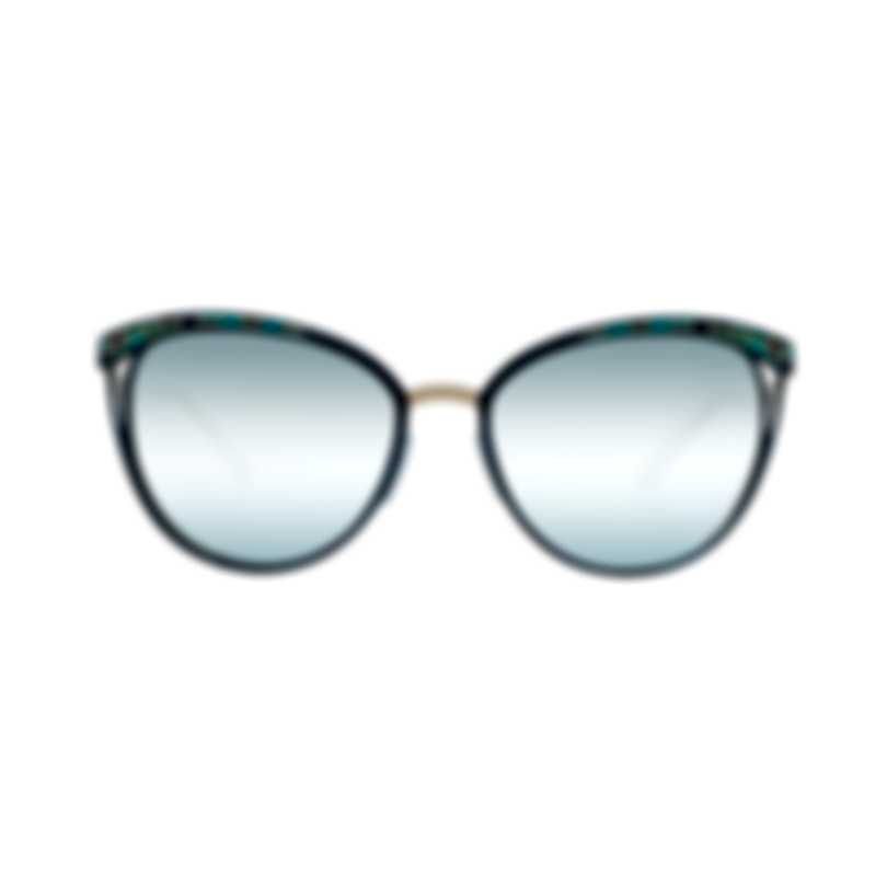 Bvlgari Blue Women's Metal Sunglasses BV6083-20206J