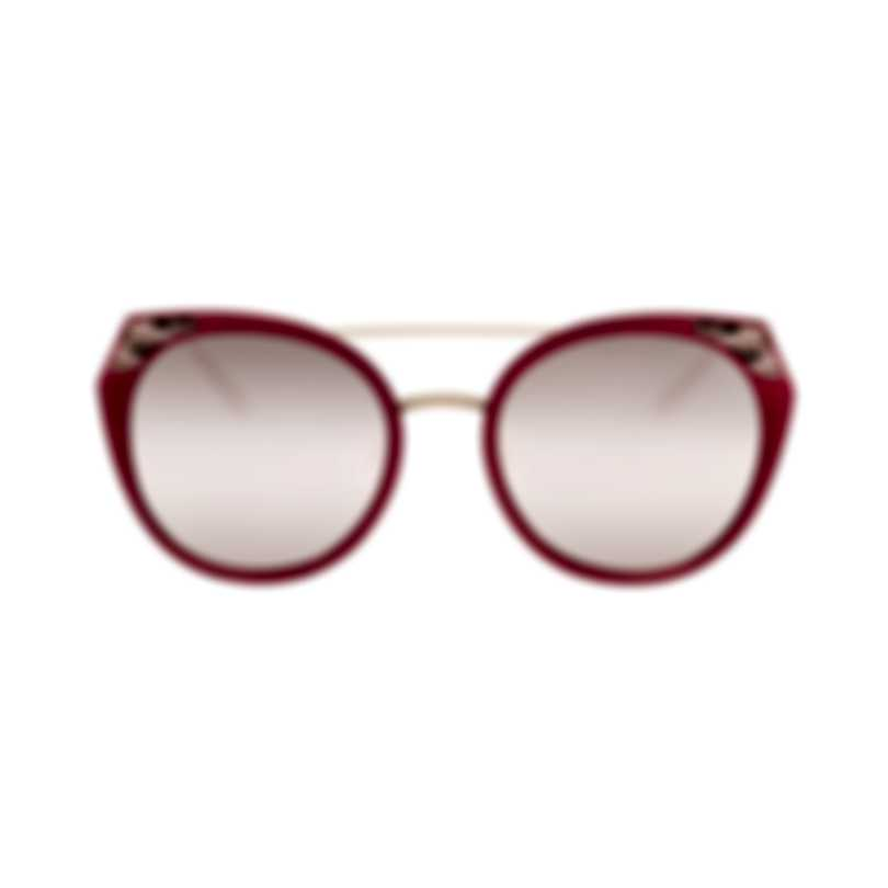 Bvlgari Pink And Red Women's Metal Sunglasses BV6095-20274Z