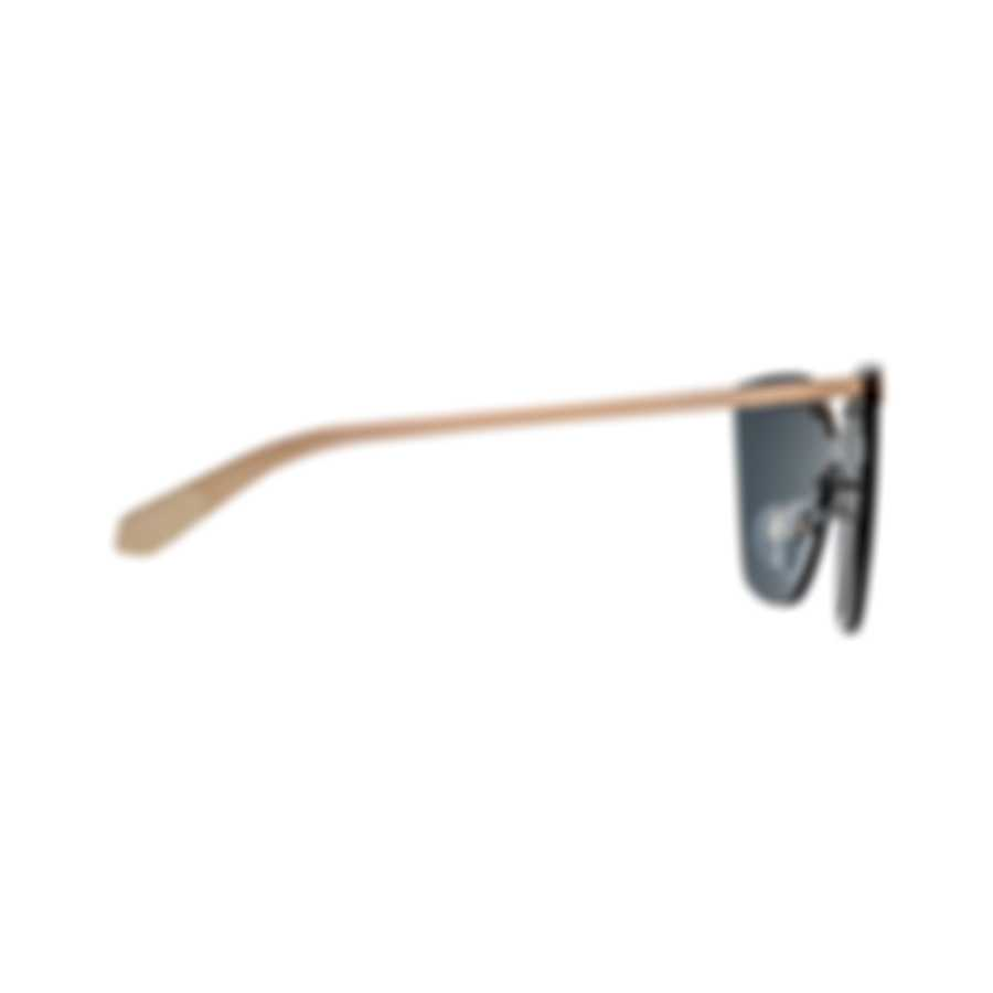 Bvlgari Gray Rose Gold Women's Metal Sunglasses BV6093-20144Z