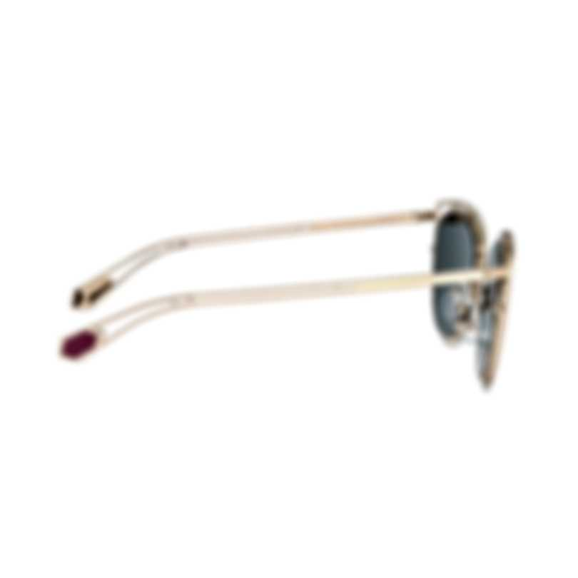Bvlgari Gold And Pink Women's Metal Sunglasses BV6104-20144Z