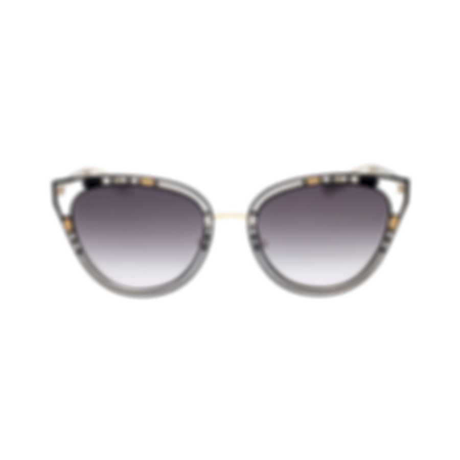Bvlgari Gray Gradient Women's Metal Sunglasses BV6104-20238G