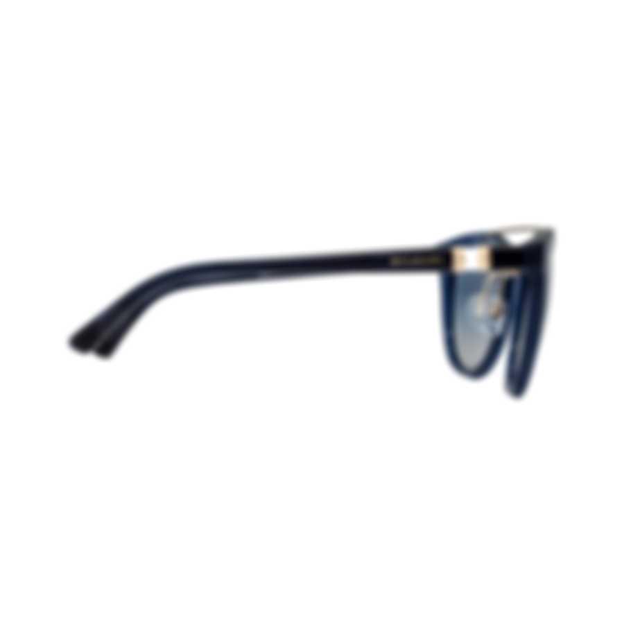 Bvlgari Light Gray Gradient Women's Acetate Sunglasses BV8184B-51454L