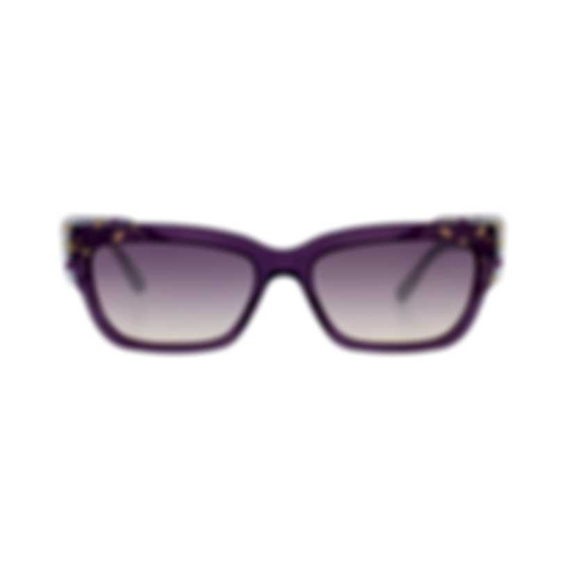 Bvlgari Yellow Gradient And Violet Women's Acetate Sunglasses BV8219-545970