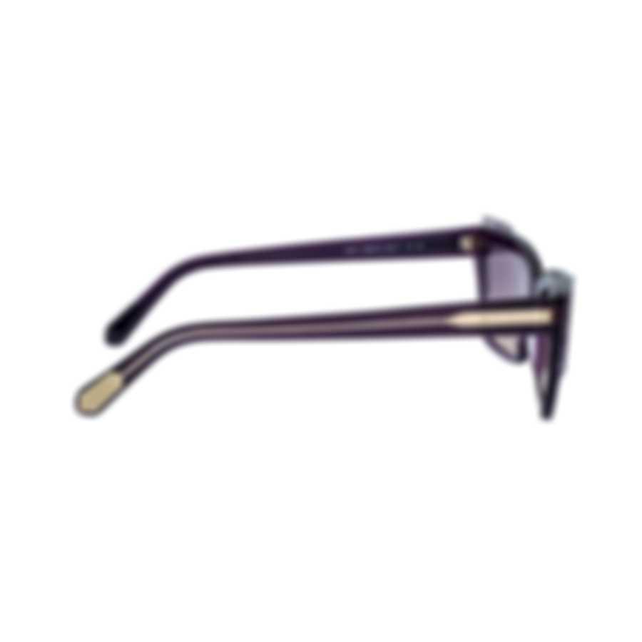 Bvlgari Yellow Gradient And Violet Women's Acetate Sunglasses BV8219-545970
