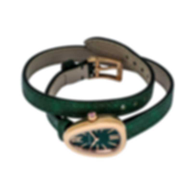 Bvlgari Serpenti 18Kt Rose Gold Quartz Ladies Watch SPP27C4PGL