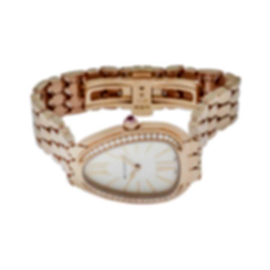 Bvlgari Serpenti Seduttori 18K Rose Gold Quartz Ladies Watch SPP33WGGD