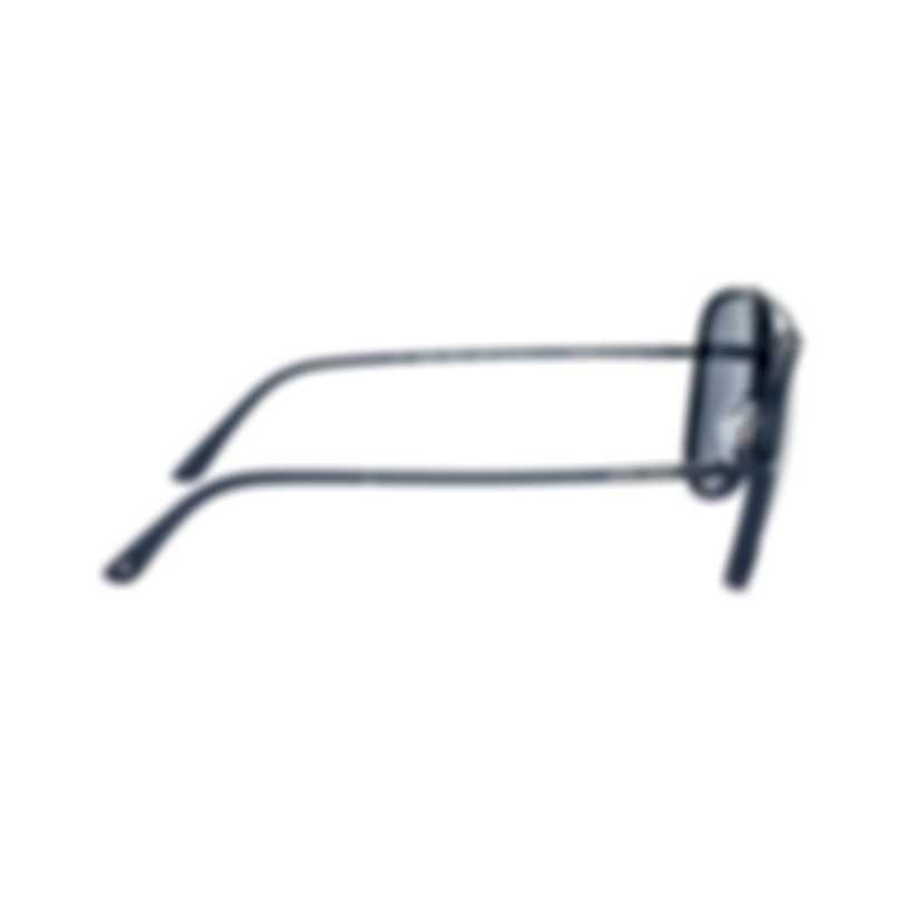 Giorgio Armani Men's Matte Blue Sunglasses AR6039-305687