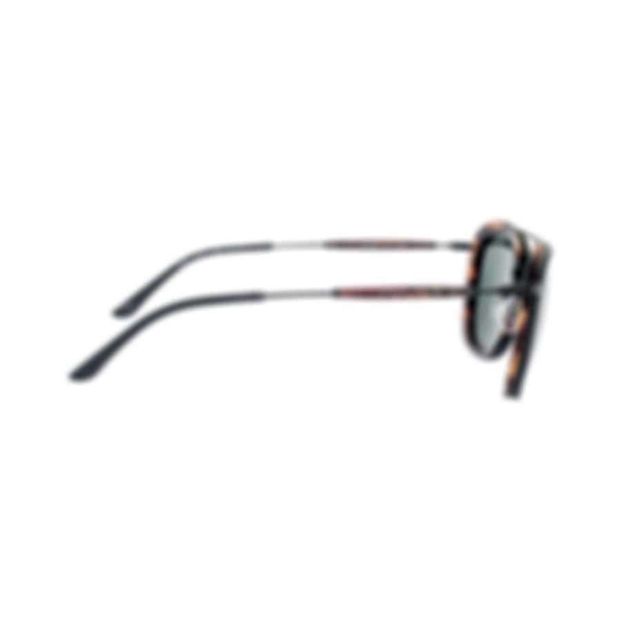 Giorgio Armani Men's Matte Black Havana Sunglasses AR6054-300171