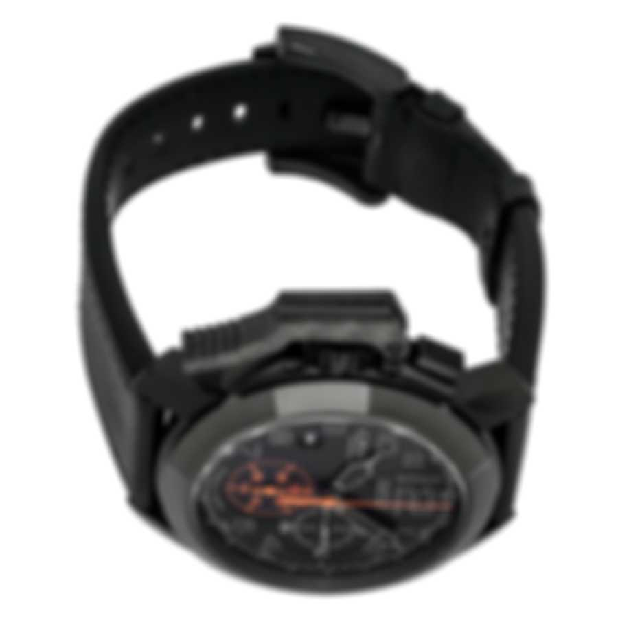 Graham Chronofighter Oversize Black Forest Chronograph Men's Watch 2CCAU.B01A LTH