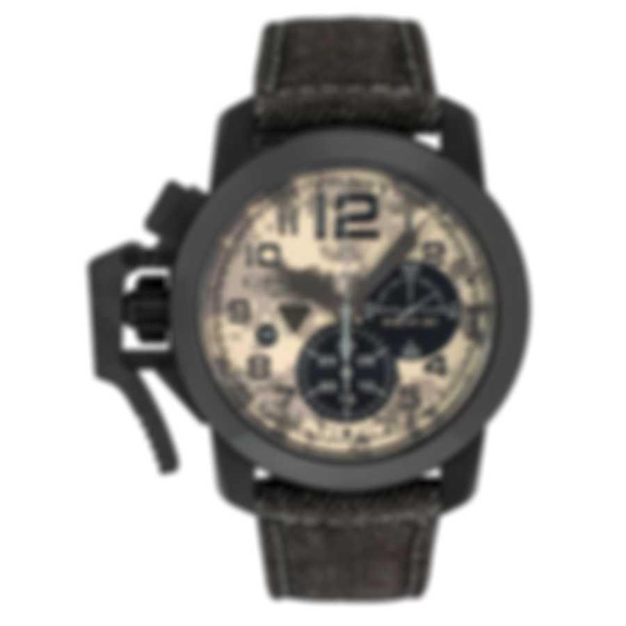 Graham Chronofighter Black Arrow Laser Control Automatic Men's Watch 2CCAU.E05C