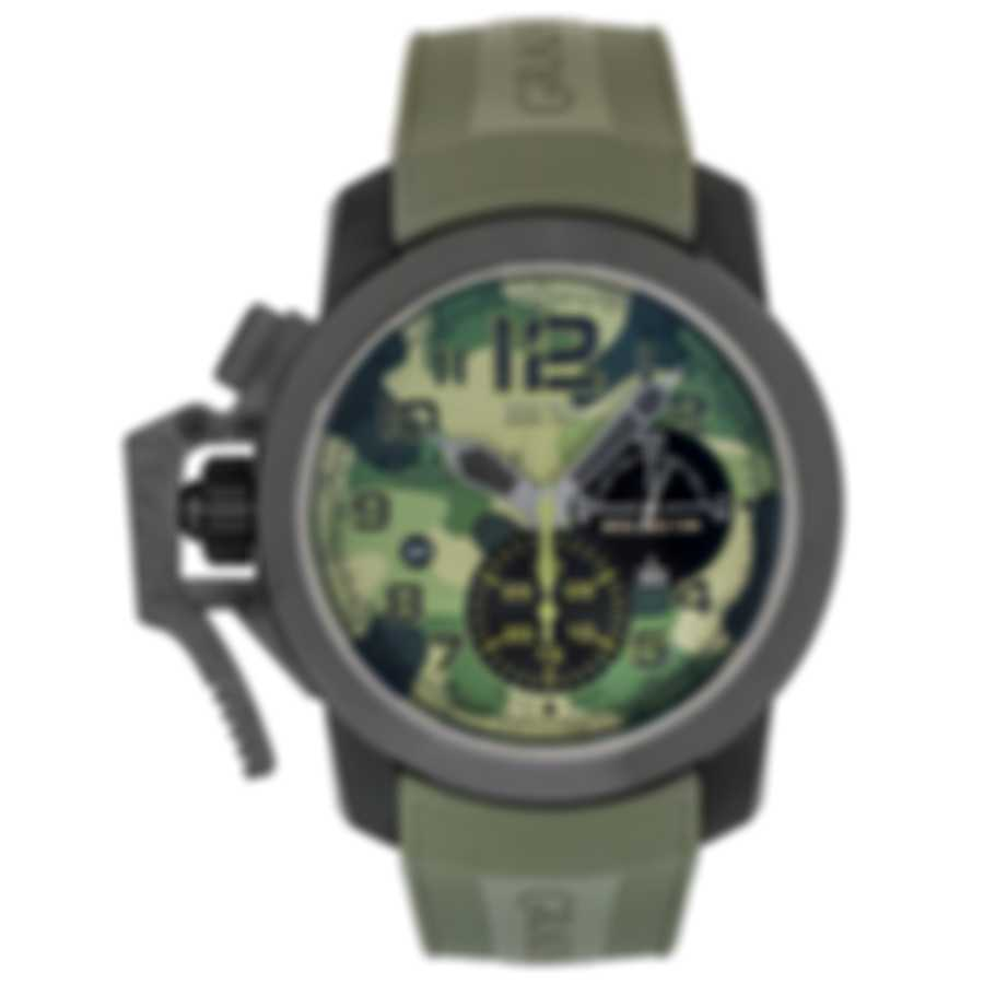 Graham Chronofighter Oversize Black Arrow Chronograph Men's Watch 2CCAU.G02C