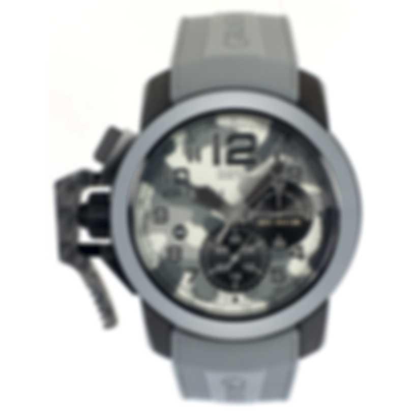 Graham Chronofighter Oversize Black Arrow Chronograph Men's Watch 2CCAU.S02C