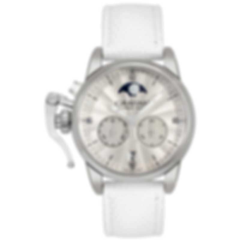Graham Chronofighter 1695 Classic Lady Moon Quartz Watch 2CXBS.S06A