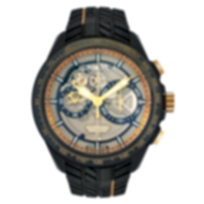 Graham Silverstone RS Skeleton Black & Gold Chronograph Men's Watch 2STAZ.B02A R