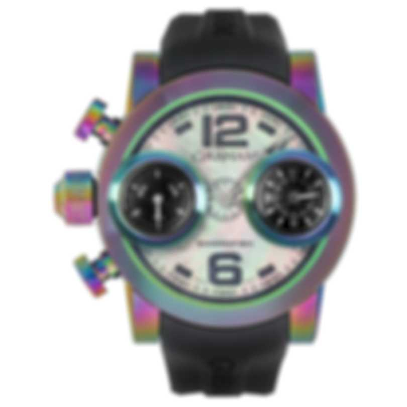 Graham Swordfish Irridescent Black Pvd Coated Steel Automatic Men's Watch 2SWBB.B39L