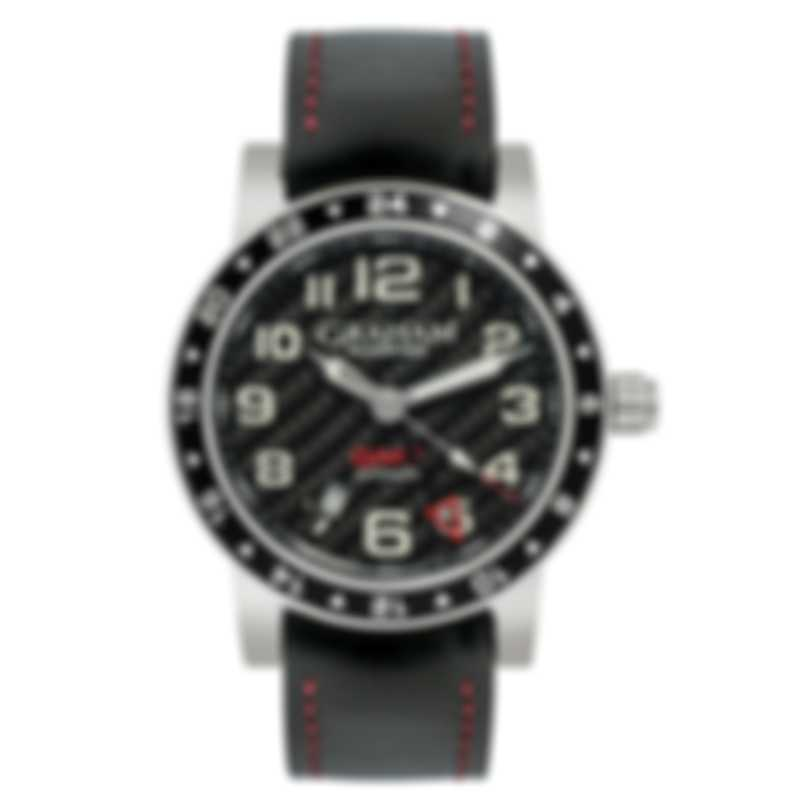Graham Silverstone Time Zone GMT Automatic Men's Watch 2TZAS.B02A RED