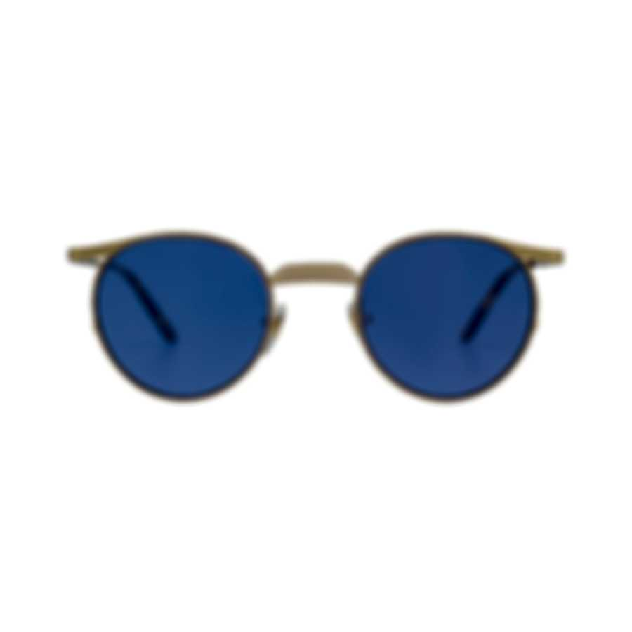 Gucci Gold And Violet Metal Men's Sunglasses GG0238S-004 MSRP $535.00