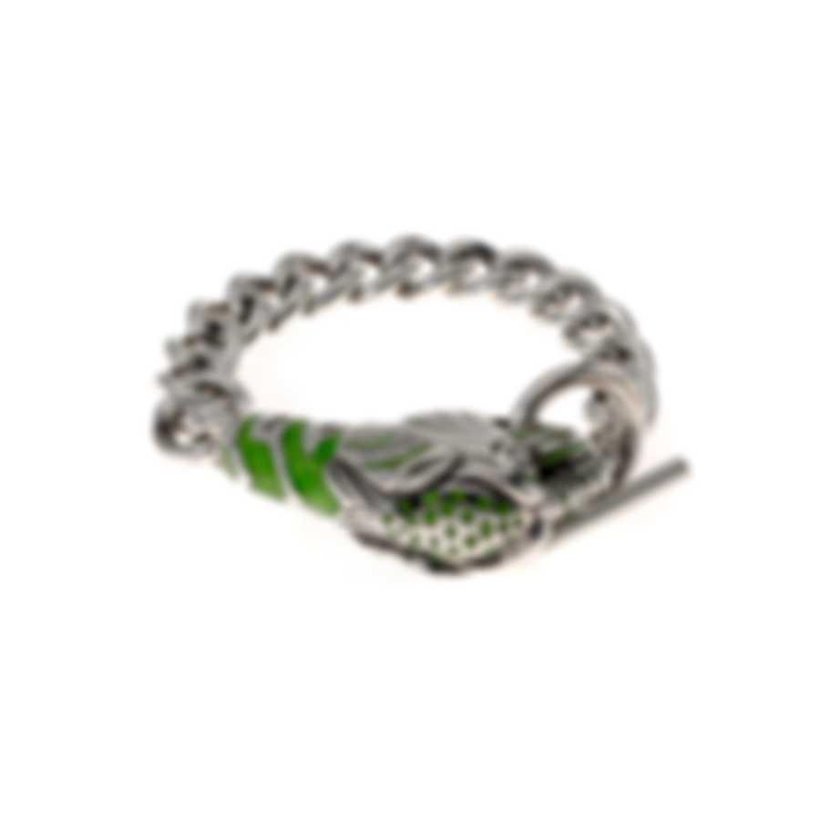 Gucci Sterling Silver Les Marche Des Merveilles Bracelet YBA512091001017