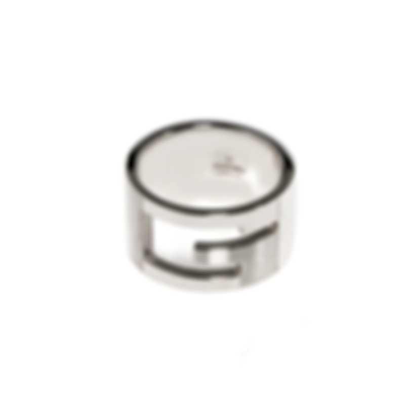 Gucci Silver Britt Sterling Silver Ring Sz 7.25 YBC190483001008