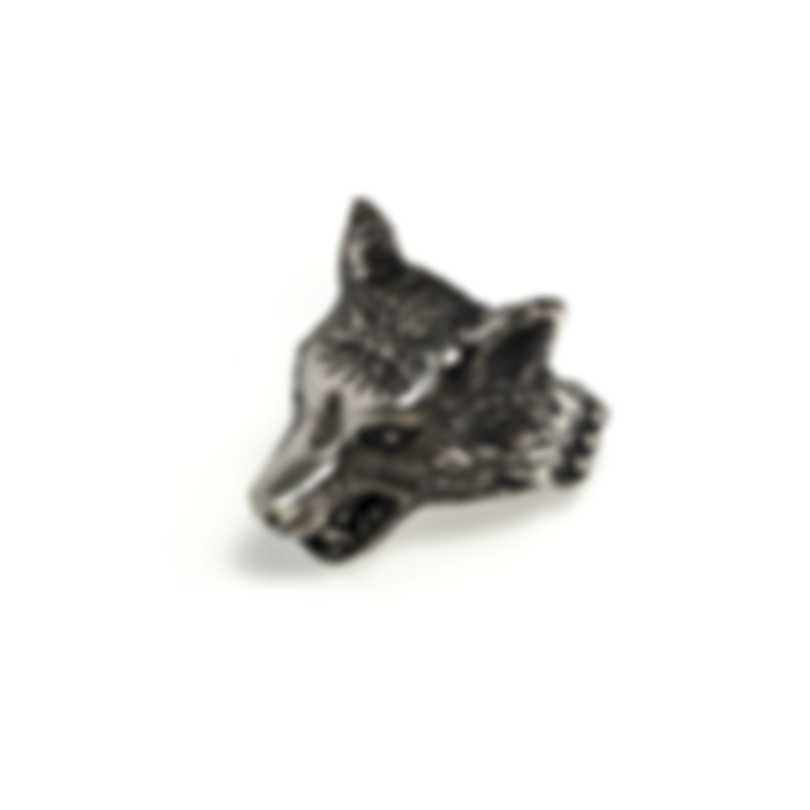 Gucci Angry Forest Sterling Silver Ring Sz 5.25 YBC476900001011
