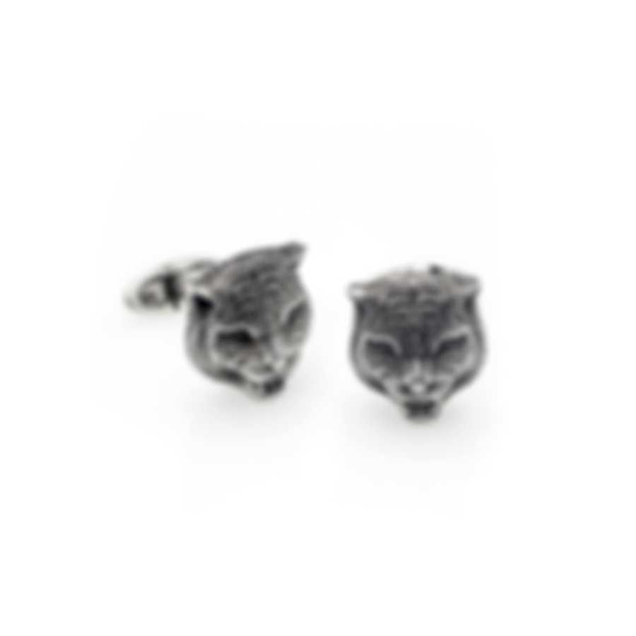 Gucci Garden Sterling Silver Cufflinks YBE43285800100U