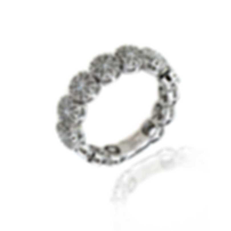Damiani 18k White Gold Diamond 0.57ct Ring Sz 7 20008953