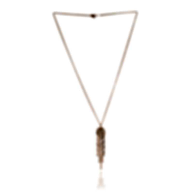 Damiani 18k Rose Gold Diamond 1.22ct Pendant Necklace 20042453