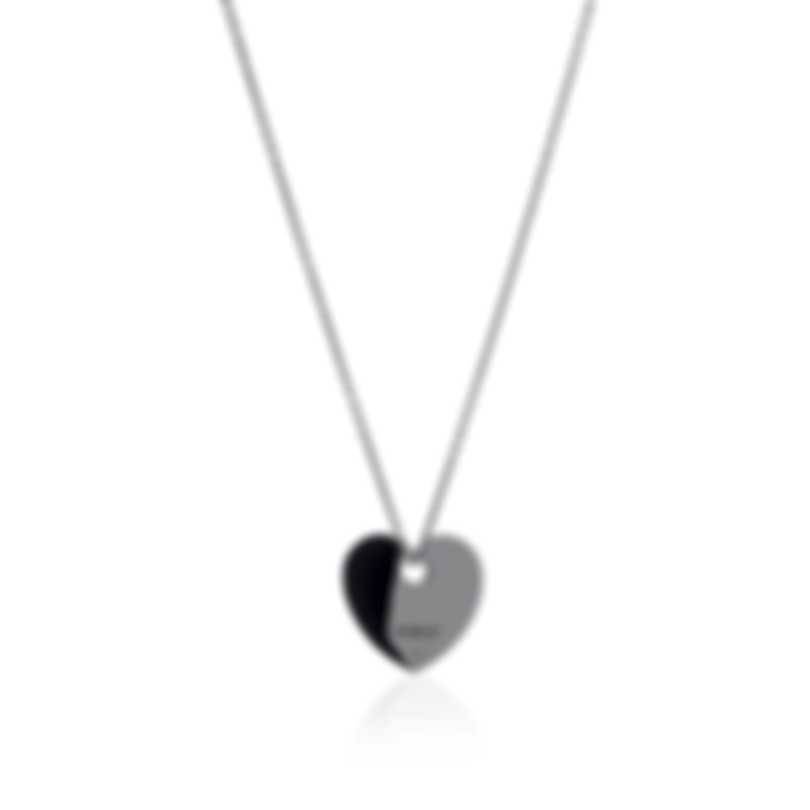 Damiani D.First Sterling Silver Diamond 0.01ct Necklace 20058708