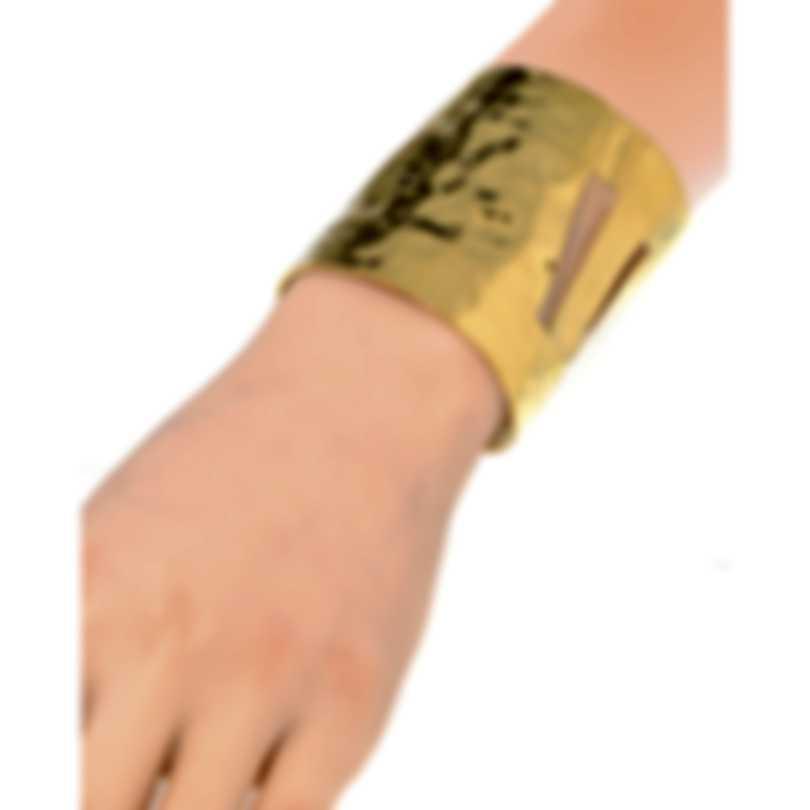 Devon Leigh 18K Gold Plated Brass Cuff Bracelet CUFF106-G