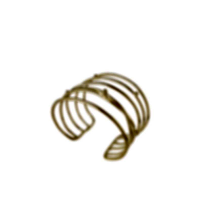 Devon Leigh 18K Gold Plated Brass Cuff Bracelet CUFF289