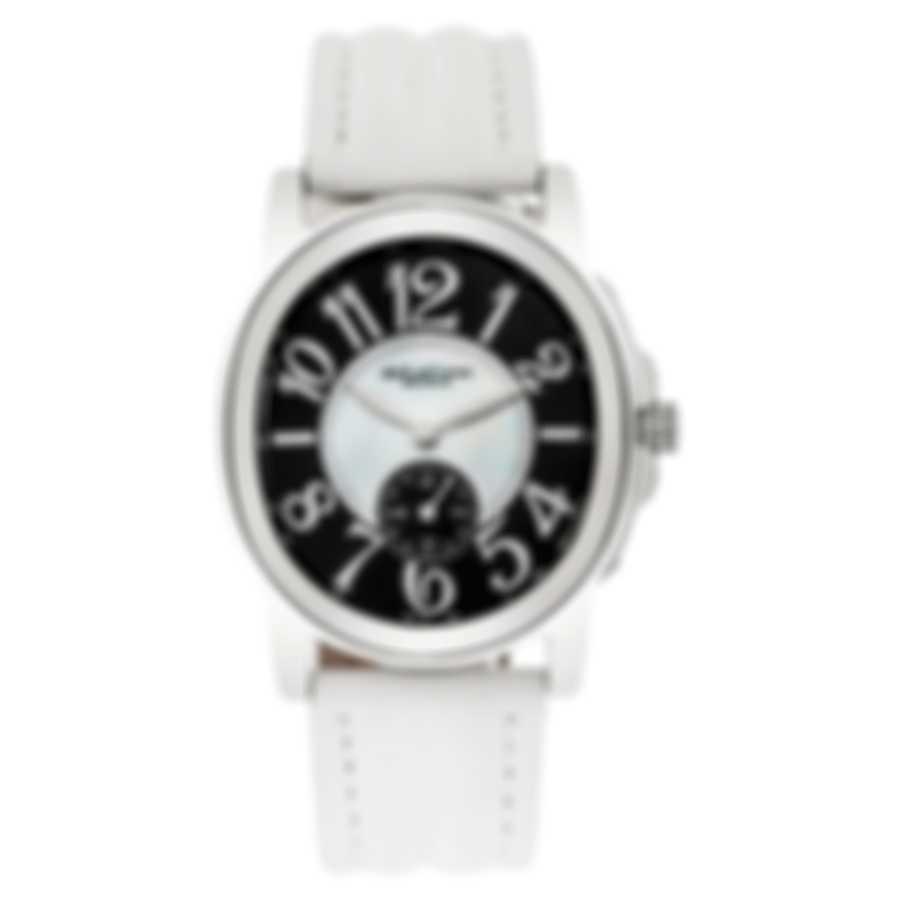 DeLaCour Calandre Mother Of Pearl Quartz Ladies Watch WAST2157-0883-WH