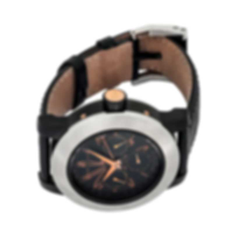 DeLaCour Fusion Calendar GMT Automatic Men's Watch WATI0139-004-LB