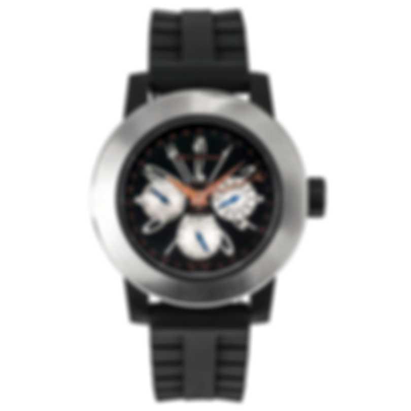 DeLaCour Fusion Calendar GMT Automatic Men's Watch WATI0139-004-RSB