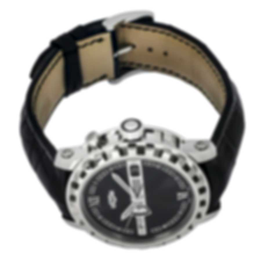 Dewitt Academia Hora Mundi Dual Time Le Automatic Men's Watch NAC.HMI.001-Croc