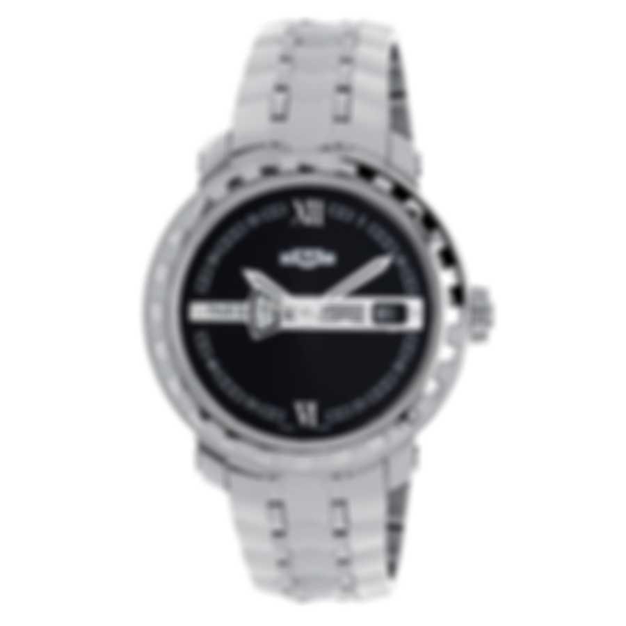 Dewitt Academia Hora Mundi Dual Time Le Automatic Men's Watch NAC.HMI.001-SS