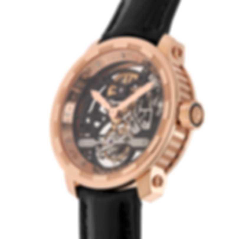 Dewitt Twenty-8-Eight Skeleton Tourbillon 18K Rose Gold Manual Wind Men's Watch T8.TH.008A