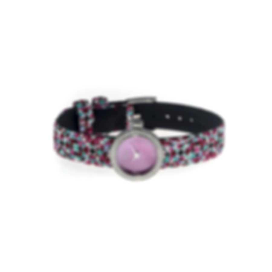 Dior La Mini D De Dior Diamond Mother Of Pearl Quartz Ladies Watch CD040110A026