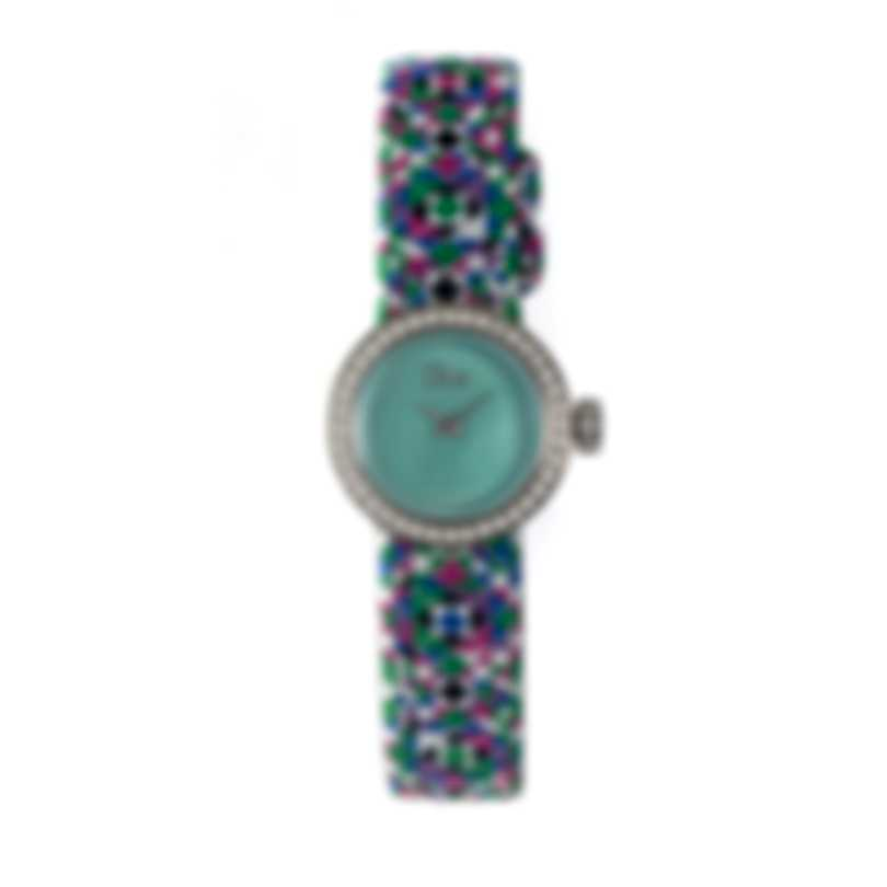Dior La Mini D De Dior Diamond Quartz Ladies Watch CD040110A027