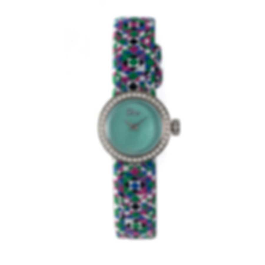 Dior La Mini D De Dior Diamond Quartz Ladies Watch CD040110A027