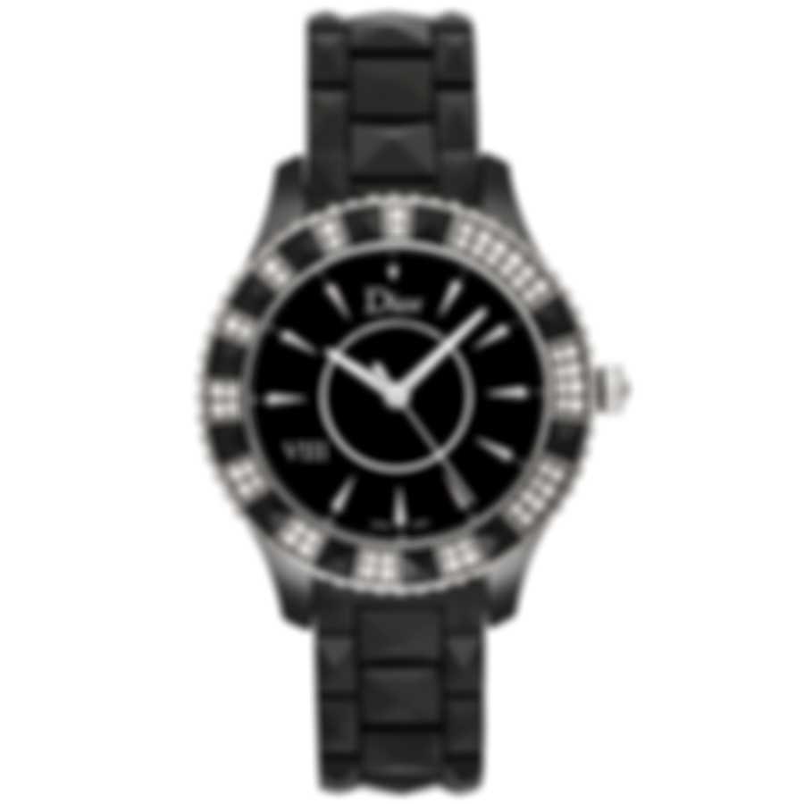 Dior Dior Viii Diamond Ceramic Quartz Women's Watch CD1241E0C001