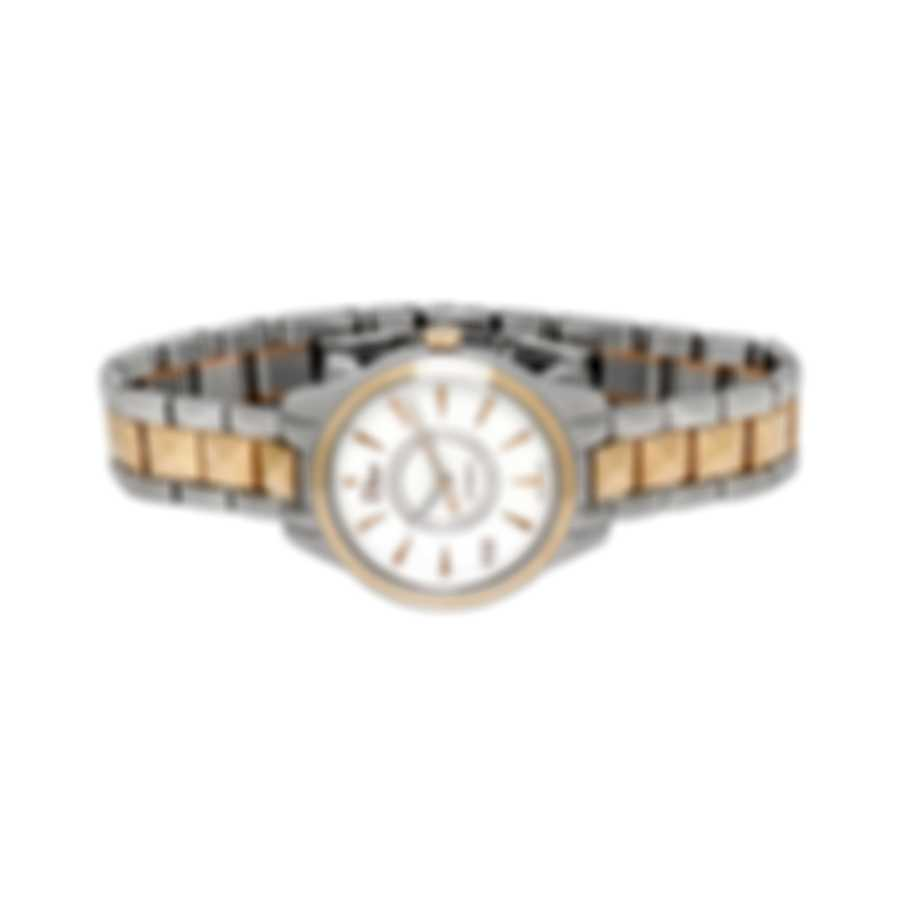 Dior Viii Montaigne 18K Rose Gold And Steel Automatic Ladies Watch CD1525I0M001