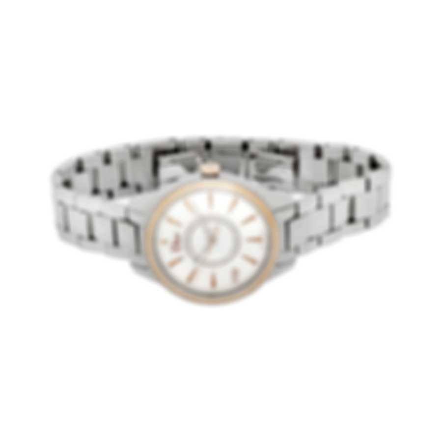 Dior Viii Montaigne Diamond Mother Of Pearl Quartz Ladies Watch CD1521I0M001